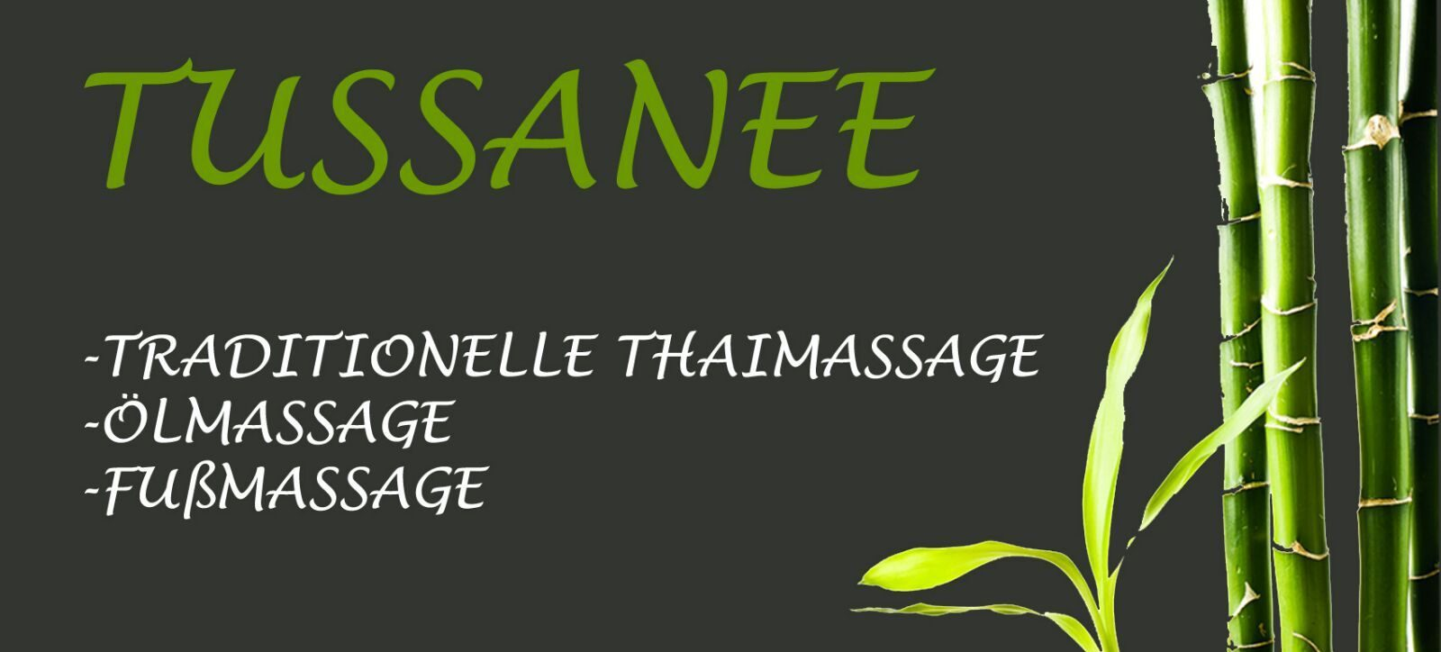 Tussanee Thai Massage Linz